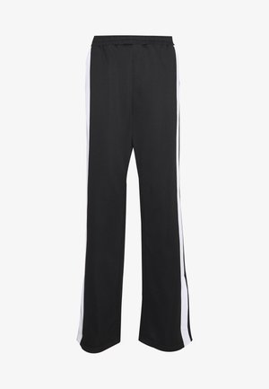 SAMAH TRACK PANT - Tracksuit bottoms - black/bright white