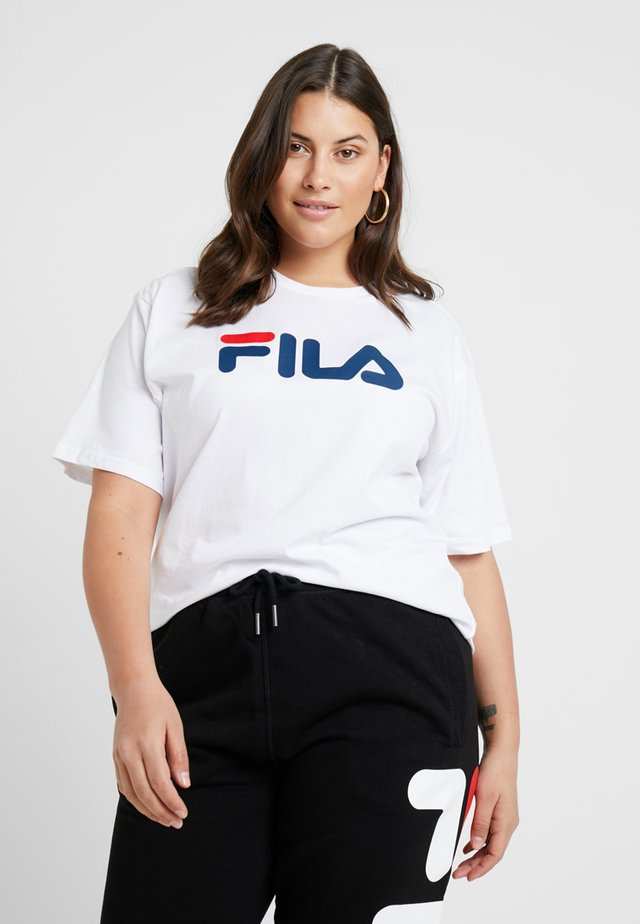 PURE SHORT SLEEVE - T-shirts print - bright white