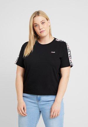 ADALMIINA TEE - T-shirt print - black