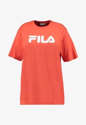 PURE SHORT SLEEVE - Camiseta estampada - orange