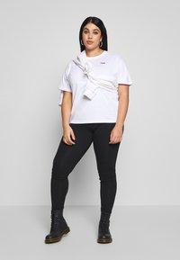 Fila Plus - EARA TEE - T-shirt basic - bright white - 1