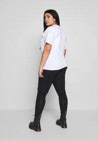 Fila Plus - EARA TEE - T-shirt basic - bright white - 2