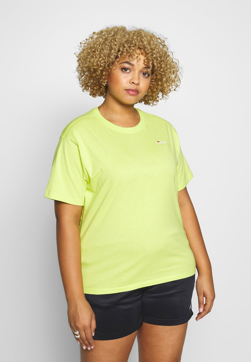 Fila Plus - EARA TEE - T-shirt basic - sharp green