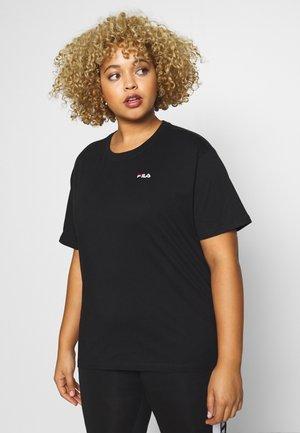 EARA TEE - T-shirts - black