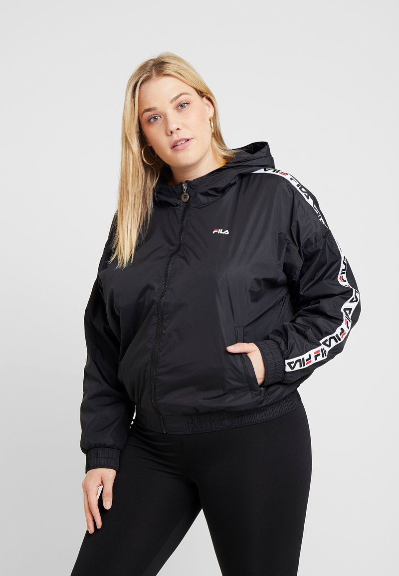 Fila Plus - TILDA HOODED JACKET - Vindjacka - black