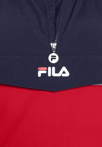 Fila Plus - PAVLINA WING JACKET - Windjack - black iris/bright white/true red - 6