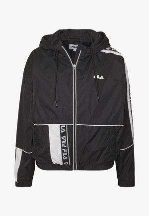 TALE WIND JACKET - Cortaviento - black/bright white