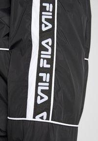Fila Plus - TALE WIND JACKET - Windjack - black/bright white - 5