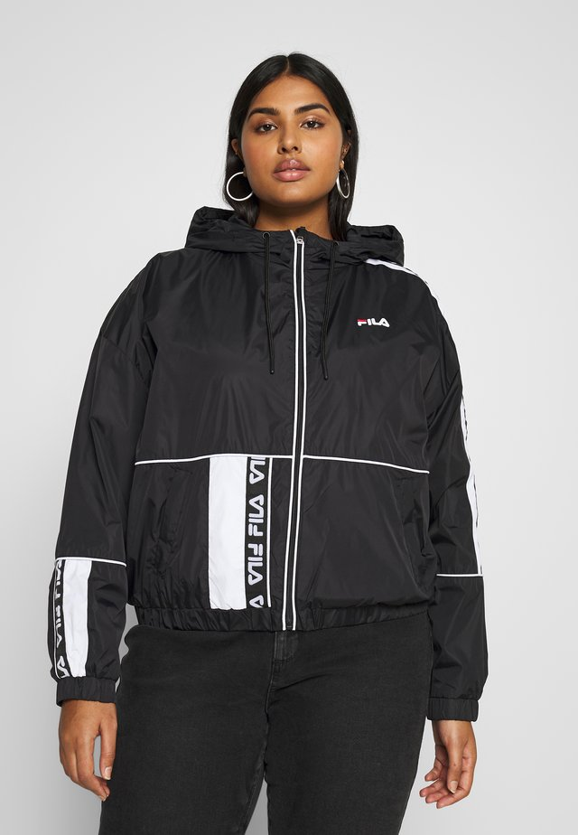 TALE WIND JACKET - Windjack - black/bright white