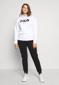 Fila Plus - PURE HOODY - Hoodie - bright white - 1