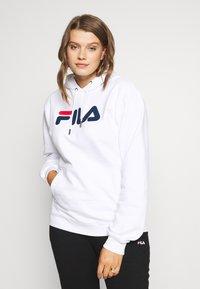 Fila Plus - PURE HOODY - Hoodie - bright white - 0