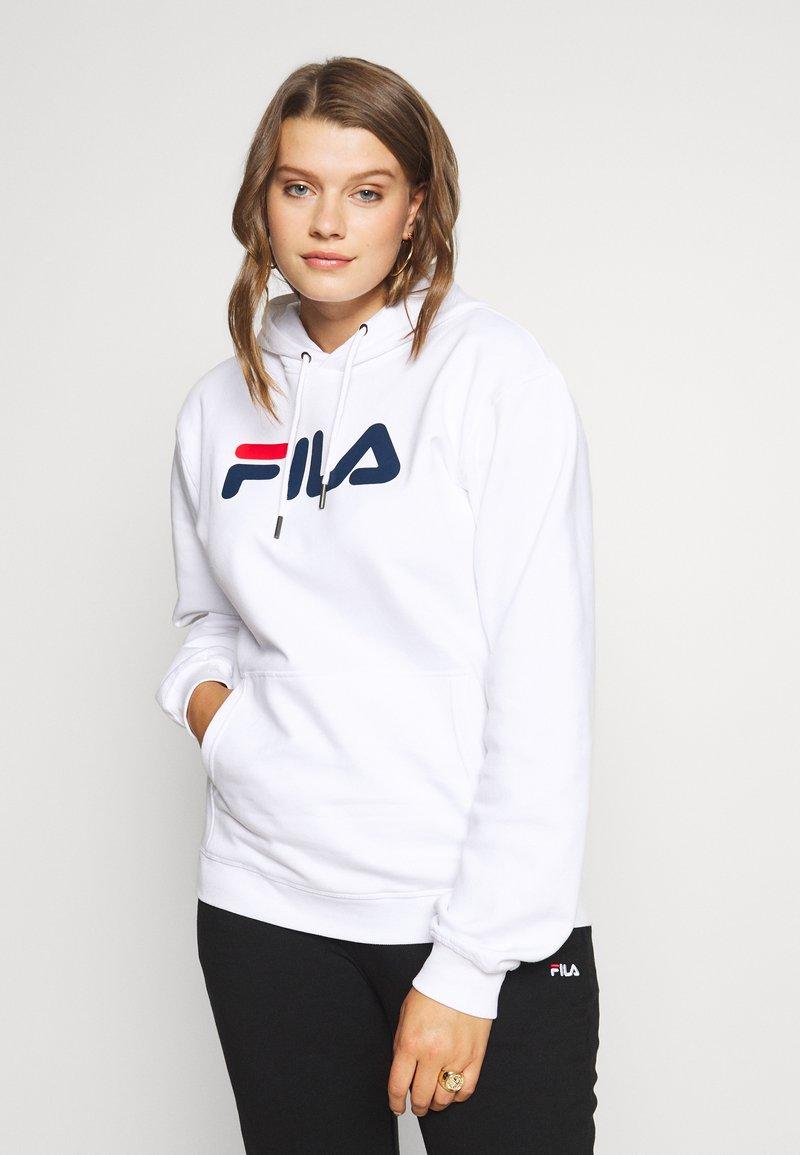 Fila Plus - PURE HOODY - Hoodie - bright white