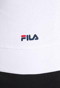 Fila Plus - PURE HOODY - Hoodie - bright white - 5