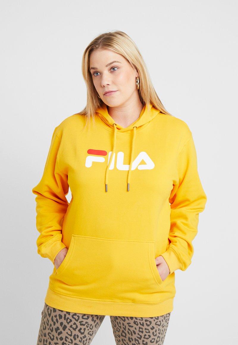 Fila Plus - PURE HOODY - Hoodie - citrus