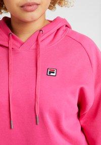 Fila Plus - FLORESHA HOODY - Jersey con capucha - pink yarrow - 5
