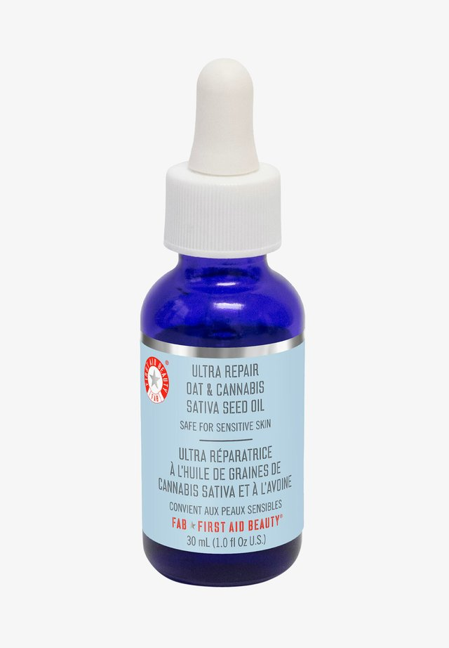FIRST AID BEAUTY ULTRA REPAIR OAT & CANNABIS SATIVA SEED OIL - Face oil - -