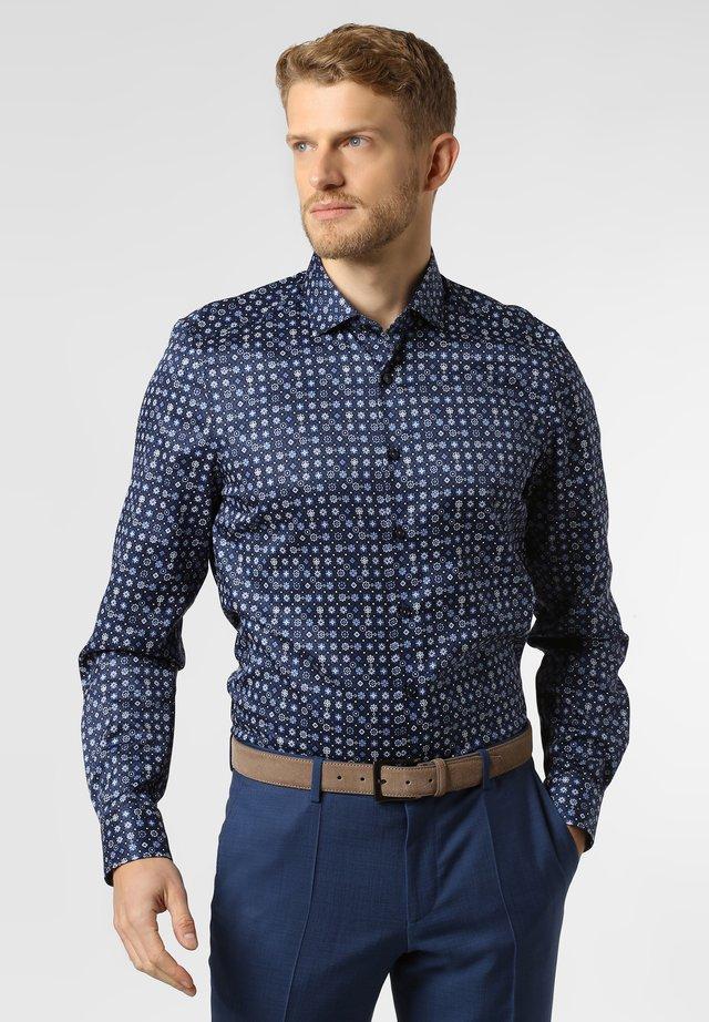 Shirt - navy/light blue