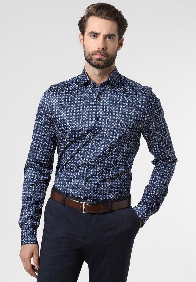 Formal shirt - navy multicolored