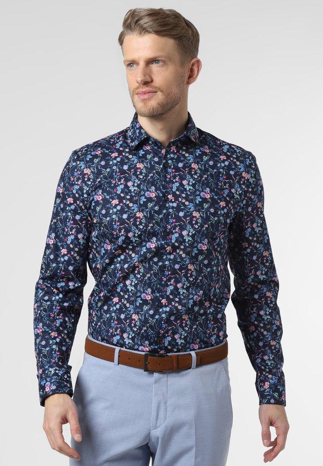 Shirt - marine mehrfarbig