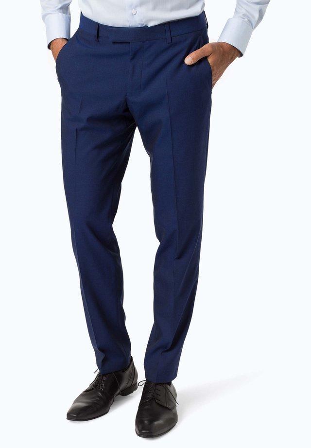 Suit trousers - royal blue