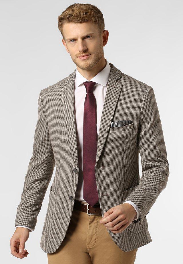 SAKKO JIMMY - Blazer jacket - beige braun