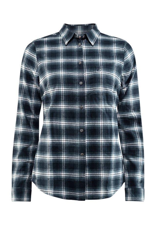 Button-down blouse - dunkelblau (295)