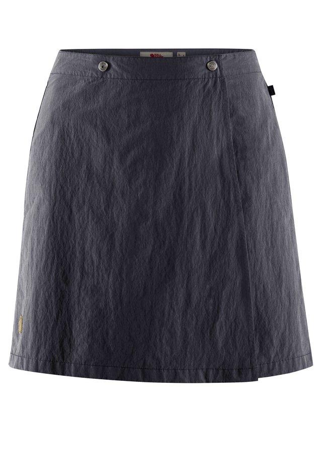 A-line skirt - marine (300)