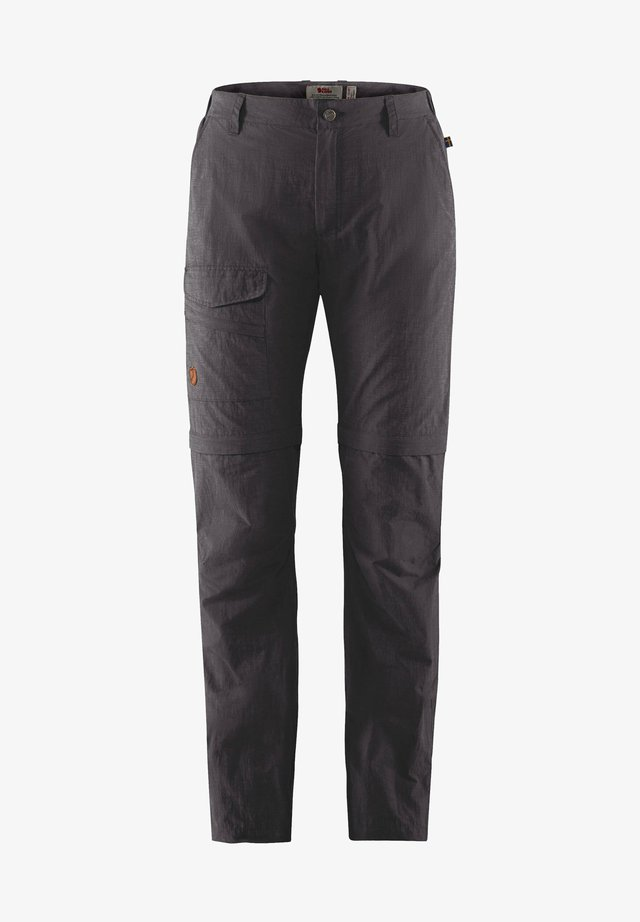 ZIPP-OFF-HOSE TRAVELLERS  - Outdoor trousers - dunkelgrau (229)