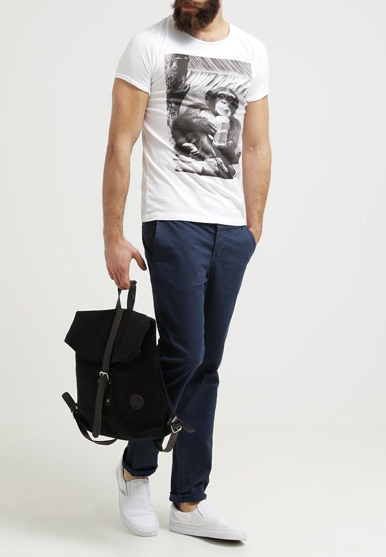 French Kick - MONKEY COOL - Print T-shirt - white