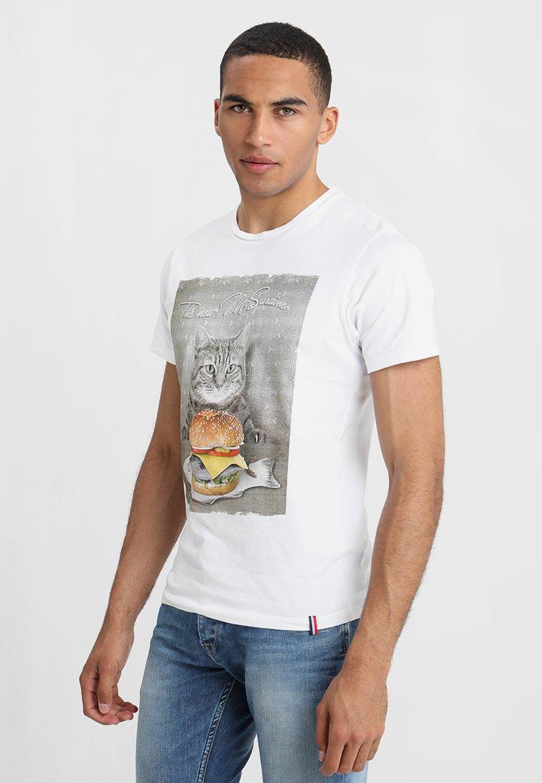 French Kick - MC SARDINE - Print T-shirt - white