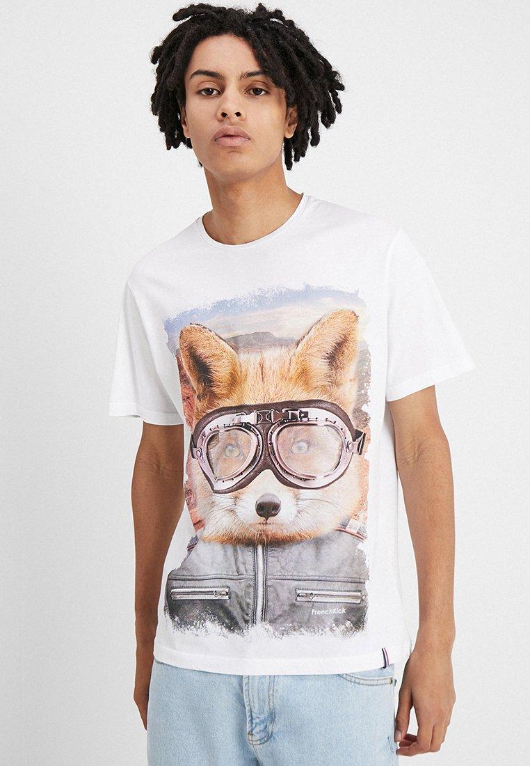 French Kick - DAKAR - Print T-shirt - white