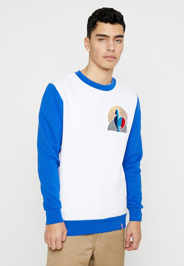 COCORICO - Sweater - white/electric blue