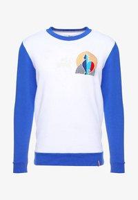 French Kick - COCORICO - Collegepaita - white/electric blue - 4