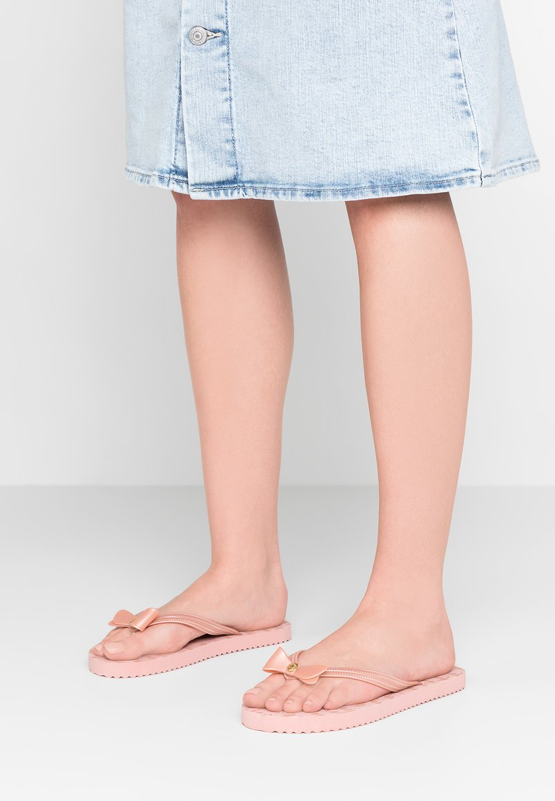 flip*flop - BOW - Pool shoes - silver/pink