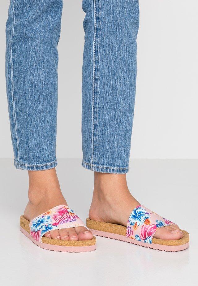 POOL ALOHA - Mules - pink