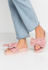 flip*flop - POOL BOW - Pantofle - dirty rose - 0