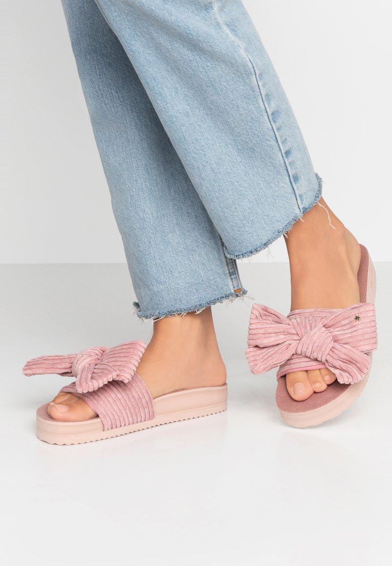 flip*flop - POOL BOW - Pantolette flach - dirty rose
