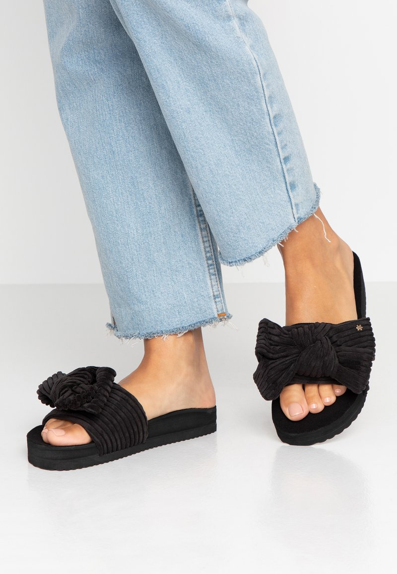 flip*flop - POOL BOW - Mules - black