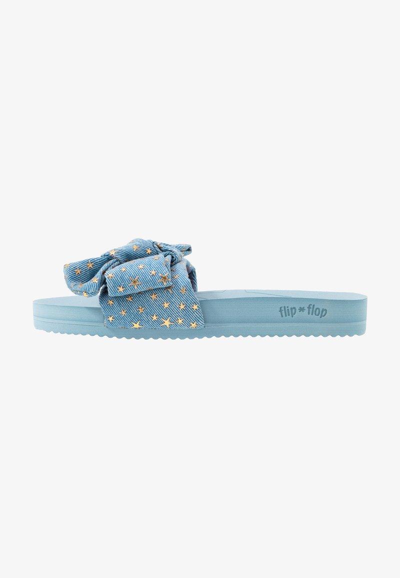 flip*flop - POOL BOW  - Pantofle - light denim