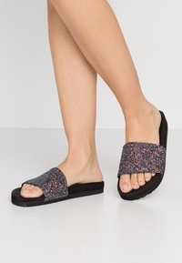 flip*flop - POOL SHIMMER - Pantofle - black - 0