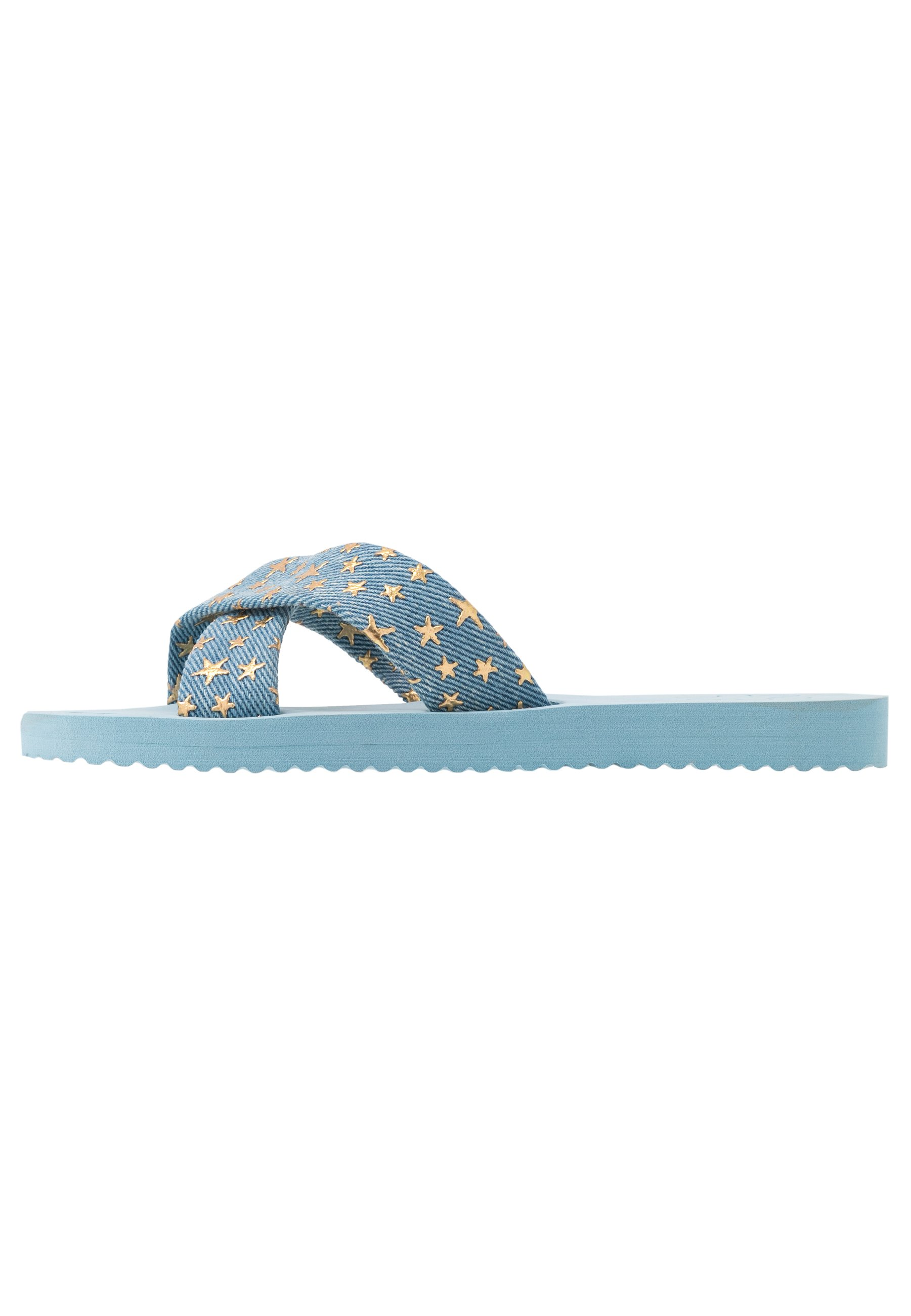 flip*flop CROSS - Slip-ins - light denim