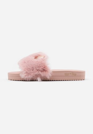 POOL MOUSE METALLIC - Slippers - dirty rose