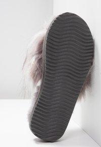 flip*flop - HAIRY POOL - Hjemmesko - steel - 6