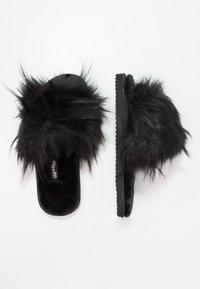 flip*flop - HAIRY POOL - Slippers - black - 2