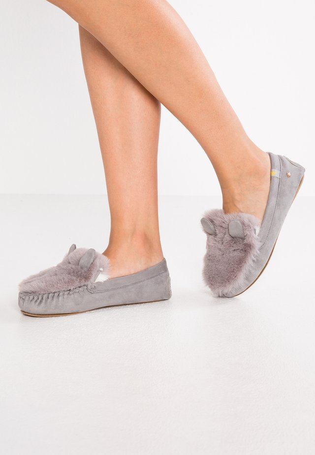 LOAFER MOUSE - Hausschuh - grey