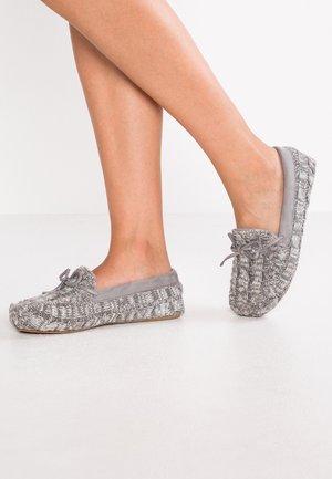 LOAFER - Domácí obuv - grey