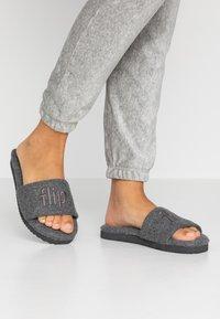 flip*flop - POOLY LOGO - Pantoffels - light grey - 0