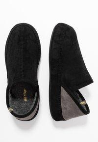 flip*flop - WIGWAM - Domácí obuv - black - 3