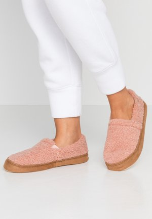 Slippers - dirty rose