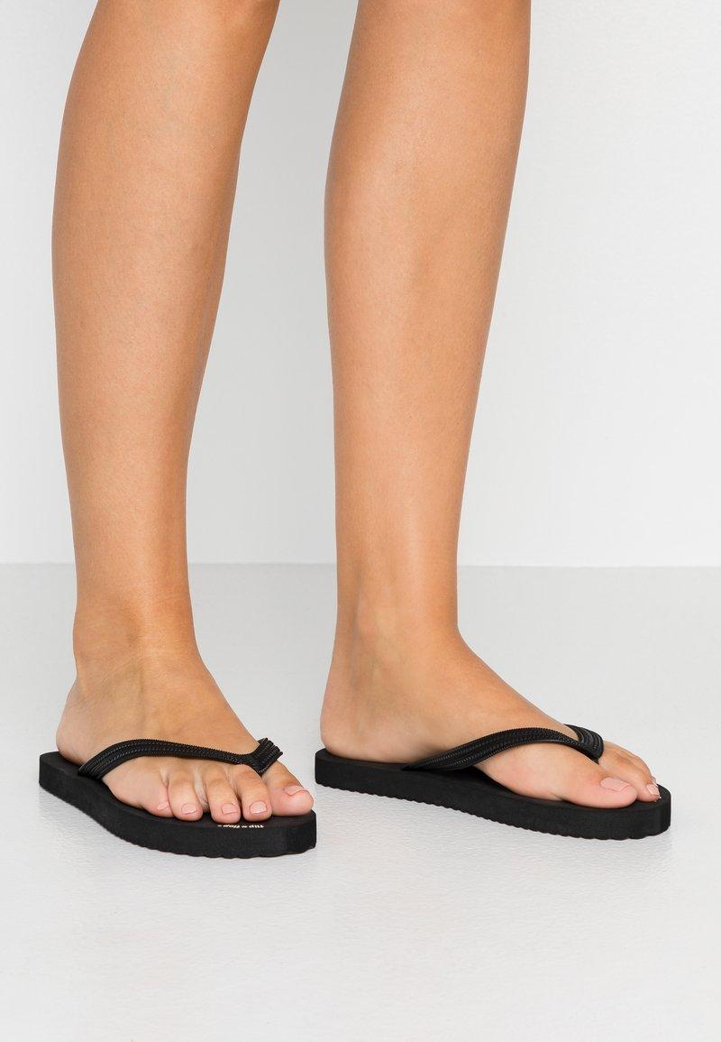 flip*flop - ORIGINAL - Bade-Zehentrenner - black